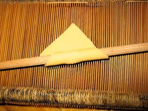 Weaving Pettine